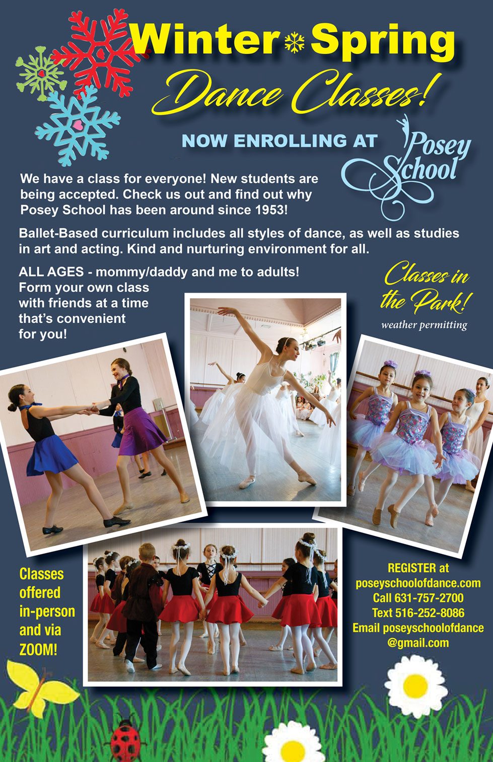 Winter & Spring Dance Classes!