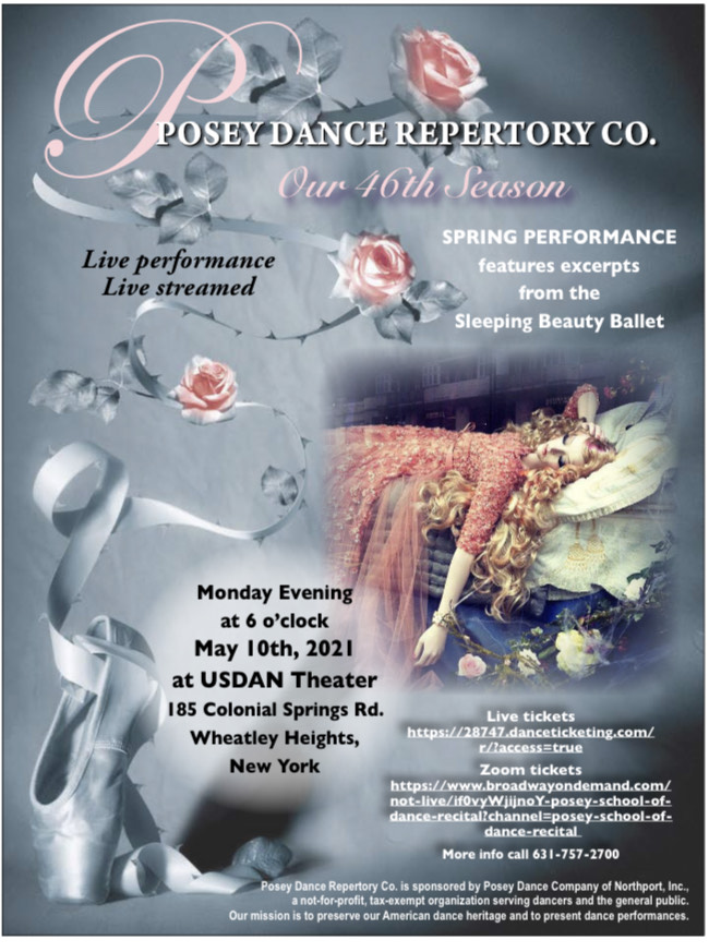 Spring Performance features excerpts from the Sleeping Beauty Ballet