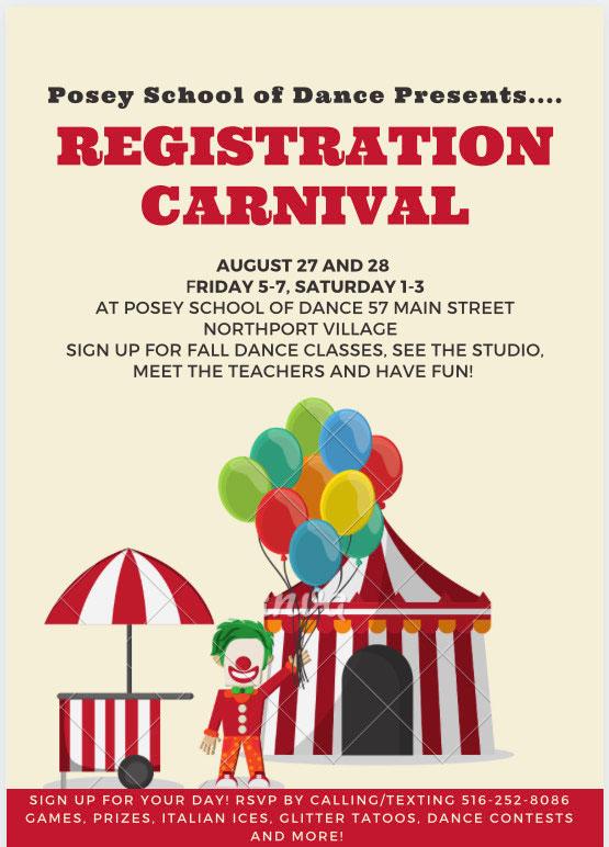 Registration Carnival